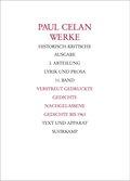 Werke: Verstreut gedruckte Gedichte, Nachgelassene Gedichte bis 1963; Abt.1; Bd.11