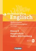 Abschlussprüfung Englisch - Klasse 9 Hauptschule Baden-Württemberg, m. Audio-CD
