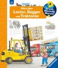 Alles über Laster, Bagger und Traktoren - Wieso? Weshalb? Warum? Bd.38