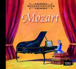 Mozarts große Reise, 1 Audio-CD