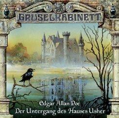 Der Untergang des Hauses Usher, Audio-CD
