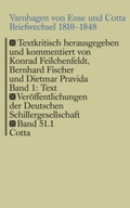 Varnhagen von Ense und Cotta. Briefwechsel 1810-1848, 2 Bde.