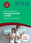 PONS Schau nach - blick durch! Schulgrammatik Latein