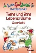 LernSpielZwerge, Kartenspaß; Tiere und ihre Lebensräume, Quartett (Kartenspiel)
