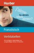 Verbtabellen Französisch