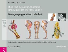 Bild-Text-Atlas zur Anatomie und Klinik des Pferdes - Bd.1