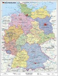 Stiefel Handkarten, Plano: Deutschland politisch