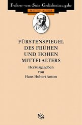 Fürstenspiegel des frühen und hohen Mittelalters; Specula principum ineuntis et progredientis medii aevi