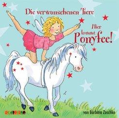 Hier kommt Ponyfee!, Audio-CDs: Die verwunschenen Tiere, 1 Audio-CD; 5