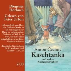 Kaschtanka und andere Kindergeschichten, 2 Audio-CDs