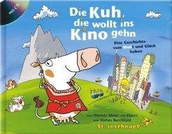 Die Kuh, die wollt ins Kino gehn, m. Mini-Audio-CD