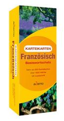 Karteikarten Französisch Basiswortschatz, m. Lernbox