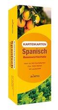Karteikarten Spanisch Basiswortschatz, m. Lernbox