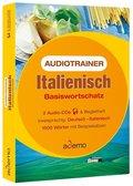 Audiotrainer Italienisch Basiswortschatz, 2 Audio-CDs