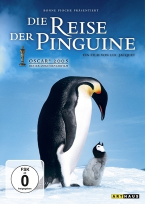Die Reise der Pinguine, 1 DVD, deutsche u. französische Version