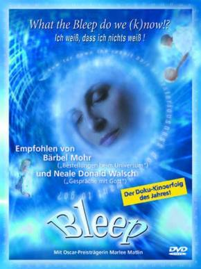 What the Bleep do we (k)now?!, 1 DVD, dtsch. u. engl. Version