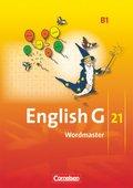 English G 21, Ausgabe B: 5. Schuljahr, Wordmaster; Bd.1