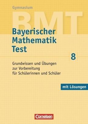 Bayerischer Mathematik Test (BMT) 8, Gymnasium