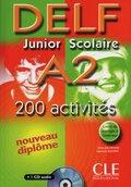DELF Junior Scolaire A2, m. Audio-CD