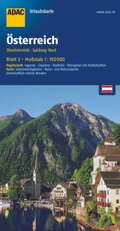 ADAC UrlaubsKarte Österreich - Oberösterreich, Salzburg-Nord