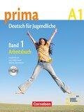Prima - Deutsch für Jugendliche/junge Erwachsene: Arbeitsbuch, m. Audio-CD; Bd.1