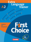 First Choice: Extra Language Trainer; Bd.A2