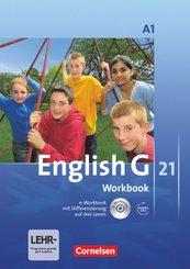 English G 21 - Ausgabe A - Band 1: 5. Schuljahr