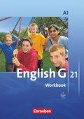 English G 21, Ausgabe A: 5. Schuljahr, Workbook mit Audios online; Bd.1