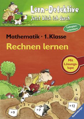 Lern-Detektive - Lernspiel; Rechnen lernen, Mathematik 1. Klasse