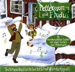 Pettersson und Findus, Schneeballschlacht und Winterspaß