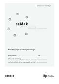 Seldak, Sprachentwicklung und Literacy bei deutschsprachig aufwachsenden Kindern, 10 Beobachtungsbögen m. Begleitheft