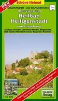 Doktor Barthel Karte Obereichsfeld, Heilbad Heiligenstadt und Umgebung