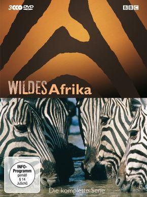 Wildes Afrika, 3 DVDs