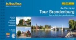 Bikeline Radtourenbuch Radfernweg Tour Brandenburg