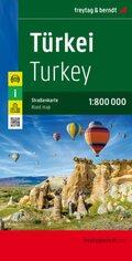 Freytag & Berndt Autokarte Türkei; Turkey. Türkiye. Turquie. Turchia