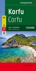 Freytag & Berndt Autokarte Korfu; Korfoe; Corfu; Corfou