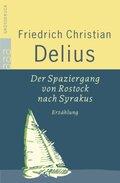 Der Spaziergang von Rostock nach Syrakus, Großdruck