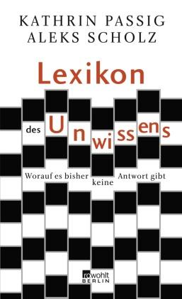 Lexikon des Unwissens