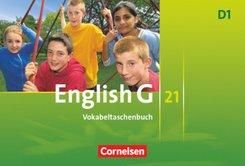 English G 21, Ausgabe D: 5. Schuljahr, Vokabeltaschenbuch; Bd.1
