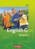 English G 21, Ausgabe D: 6. Schuljahr, Workbook mit Audios online; Bd.2