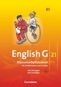 English G 21, Ausgabe B: 5. Schuljahr, Klassenarbeitstrainer mit Audios online; Bd.1
