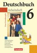 Deutschbuch, Neue Grundausgabe: 6. Schuljahr, Arbeitsheft