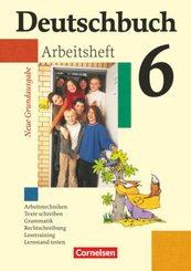 Deutschbuch - Sprach- und Lesebuch - Grundausgabe 2006 - 6. Schuljahr
