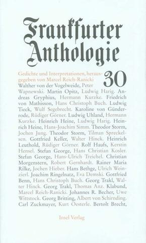 Frankfurter Anthologie - Bd.30