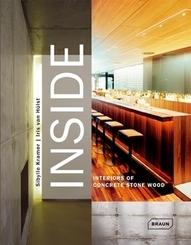 Inside, Interiors of Concrete Stone Wood