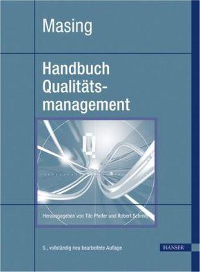 Masing Handbuch Qualitätsmanagement, m. CD-ROM