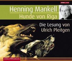Hunde von Riga, 6 Audio-CDs