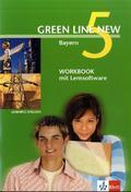 Green Line New, Ausgabe für Bayern: Workbook mit CD-ROM, 9. Schuljahr; Bd.5