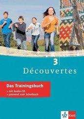 Découvertes: Das Trainingsbuch, m. Audio-CD; 3