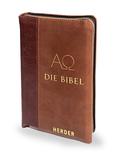 Die Bibel, m. Reißverschluss, Kunstleder 2-farbig